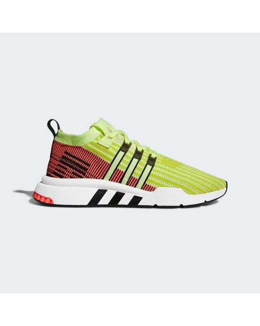 another chance 7f0b0 6ce29 Adidas - Multicolor Eqt Support Mid Adv Primeknit Shoes for Men - Lyst ...