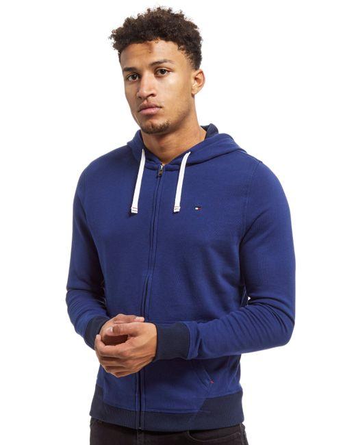 Tommy Hilfiger | Blue Core Full Zip Hoodie for Men | Lyst