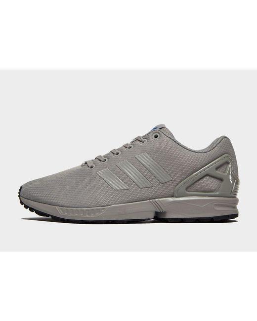 815fc420a795 Adidas Originals - Gray Zx Flux for Men - Lyst ...