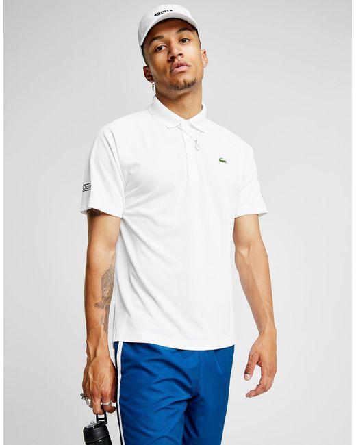 Lacoste - White Djokovic Ten Polo Shirt for Men - Lyst