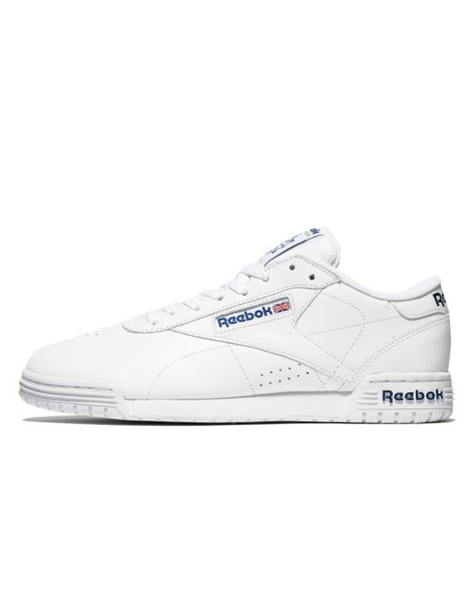 Reebok - White Ex-o-fit Lo for Men - Lyst ... 195a9d22f