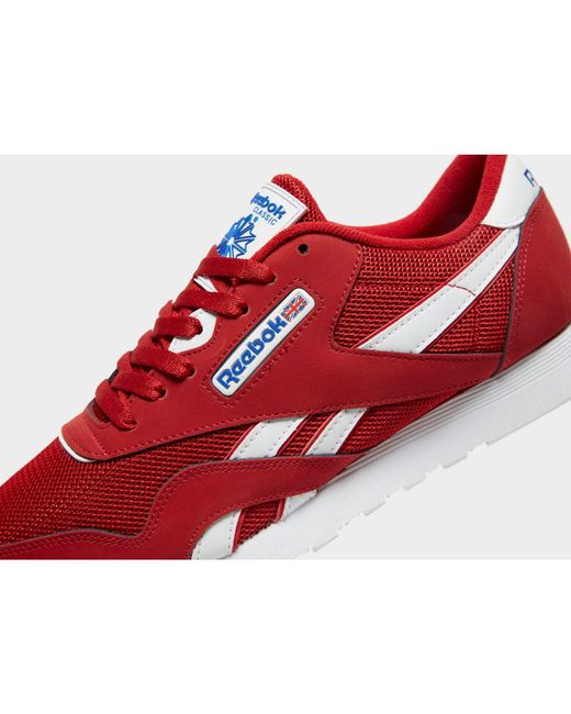 10cabb8bb3972 ... Reebok - Red Classic Nylon for Men - Lyst ...