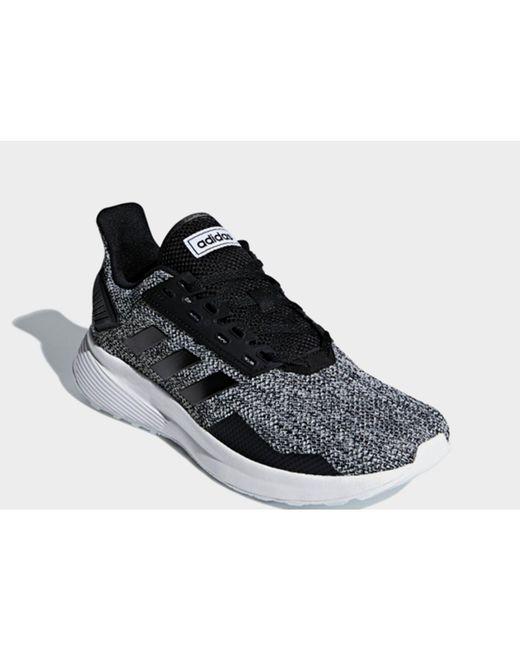 competitive price e323e d9567 ... Adidas - Black Duramo 9 Shoes for Men - Lyst ...