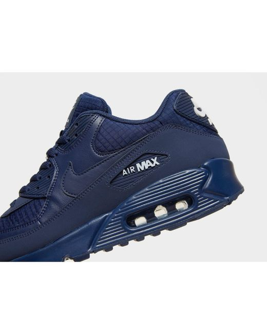 best sneakers 06ac3 96efc ... Nike - Blue Air Max 90 Essential for Men - Lyst ...