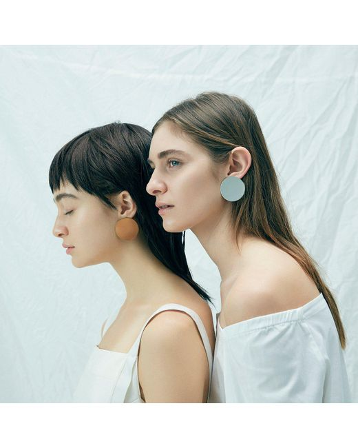 Jenny Bird   Metallic Ariel Earrings - High Polish   Lyst