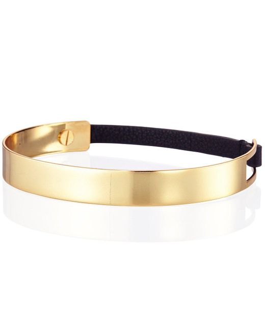 Jenny Bird - Metallic The Jane Choker - High Polish - Lyst