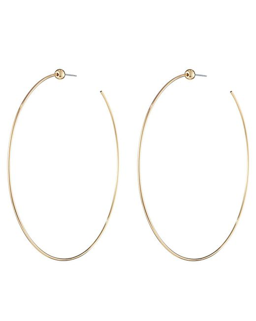 Jenny Bird - Metallic Icon Hoops - Medium - Lyst