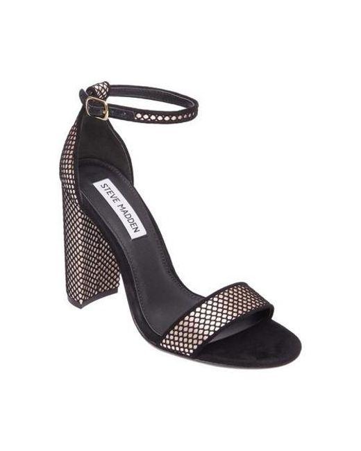 Steve Madden - Black Carrson Ankle Strap Sandal - Lyst