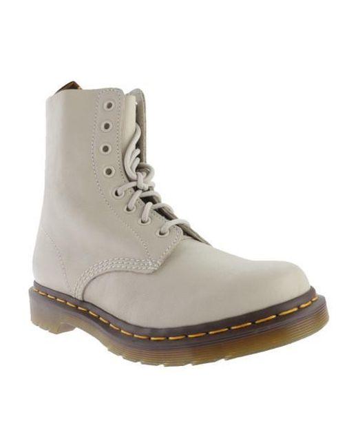 Dr. Martens   Gray Unisex Pascal 8-eye Boot   Lyst