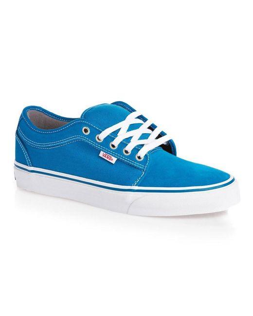 Vans - Blue Chukka Low Sneakers for Men - Lyst