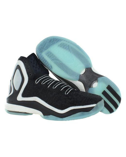 5e4fbb84c080 ... usa adidas black d rose 5 boost basketball shoes size 10 for men lyst  f0cdd 810e6