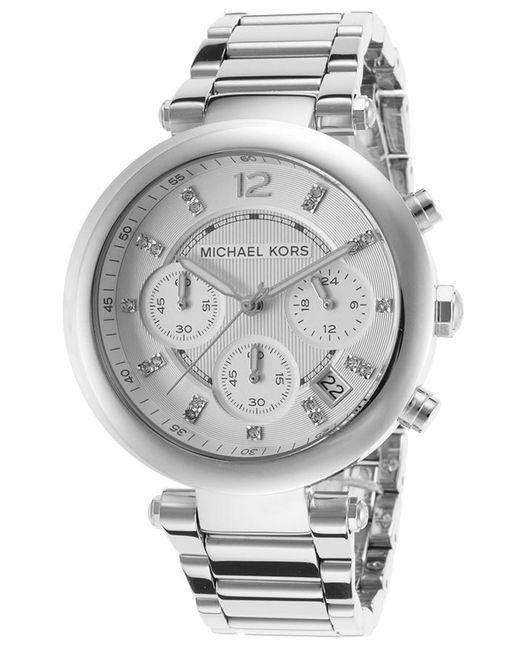 cd0d88880e48 Lyst - Michael Kors Mk5275 Parker Watch in Metallic