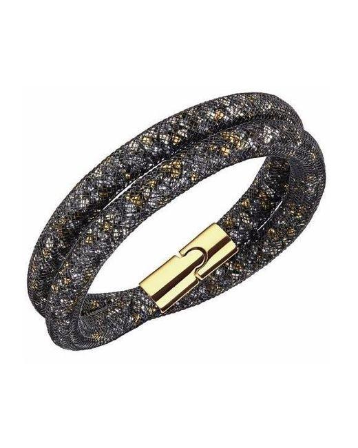 Swarovski | Metallic Stardust Dorado Double Bracelet | Lyst