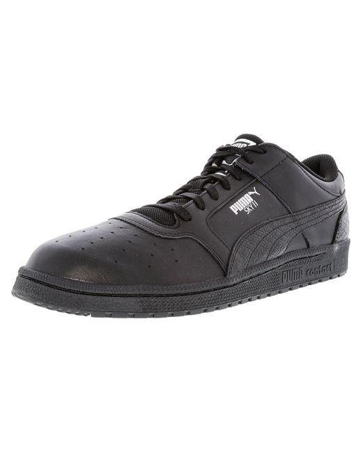PUMA - Sky Ii Lo B And W Black Ankle-high Fashion Sneaker - 13m for Men - Lyst