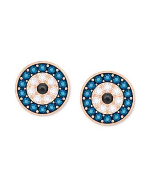 Swarovski | Blue 5377720 Crystal Wishes Earrings - Multi | Lyst