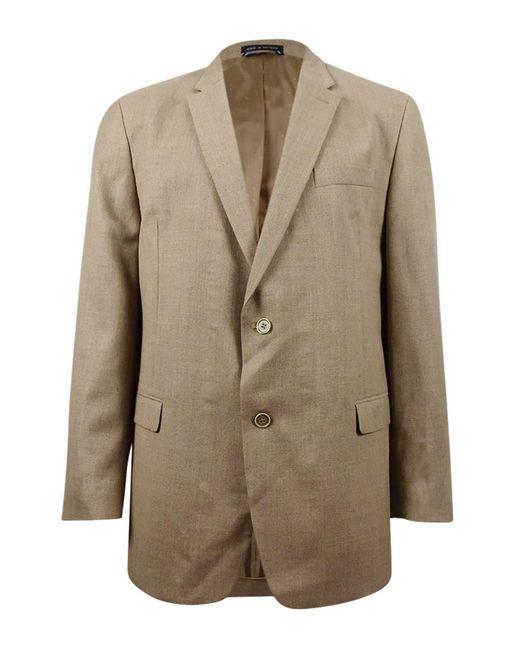 Tommy Hilfiger - Natural Hopsack Solid Classic-fit Sport Coat for Men - Lyst