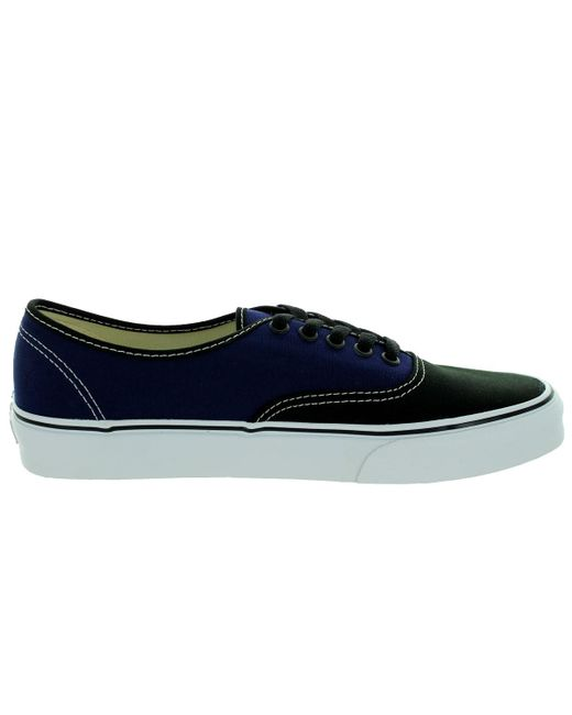 a8571a69aa586 Authentic Skate Unisex Vans Blackpatrio Lyst Blue Shoe Tone 2 x1v0qw