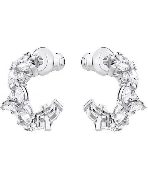 Swarovski - Metallic 5390189 Lady Hoop Pierced Earrings - Lyst