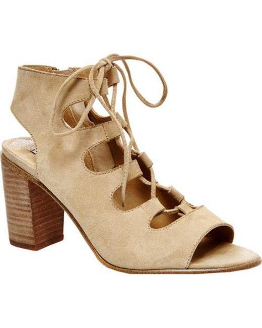 Steve Madden - Natural Women's Nilunda Lace-up Sandals - Lyst
