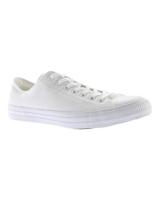 433c53abad8a Lyst - Converse Unisex Chuck Taylor All Star Leather Low Top in ...