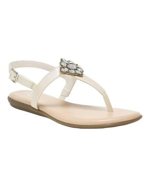 de3f32d46d92 Lyst - A2 By Aerosoles Chlipper Thong Sandal in White - Save 53%