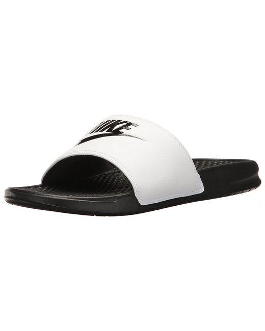 738873268 Nike - White Benassi Jdi Slide Sandal for Men - Lyst ...