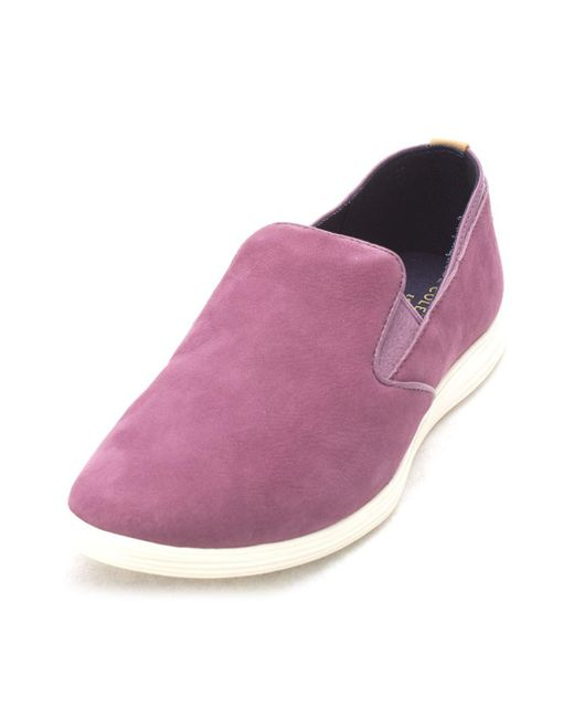 Cole Haan - Purple Musettesam Low Top Slip On Fashion Sneakers - Lyst