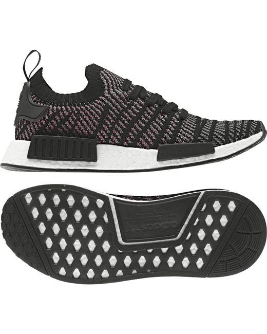 6b325b5934be6 ... Adidas - Black Nmd r1 Stlt Primeknit Originals Running Shoe for Men -  Lyst ...