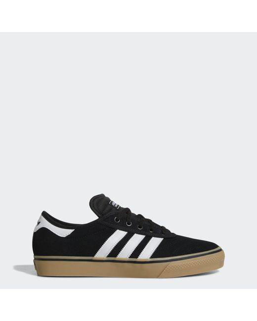 uk availability e9c0d f5d6e Adidas - Black Adi-ease Premiere Skate Shoe for Men - Lyst ...