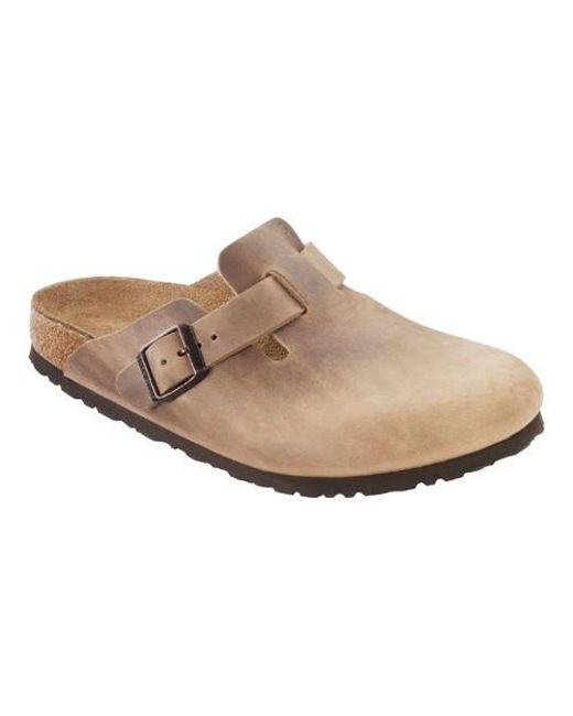 0accf3aaa0ca Lyst - Birkenstock Unisex Boston Oiled Leather in Brown for Men