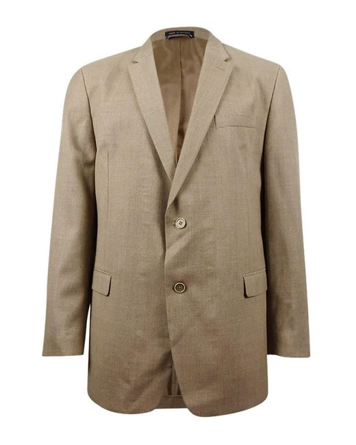 Tommy Hilfiger - Natural Hopsack Solid Classic-fit Sport Coat for Men - Lyst