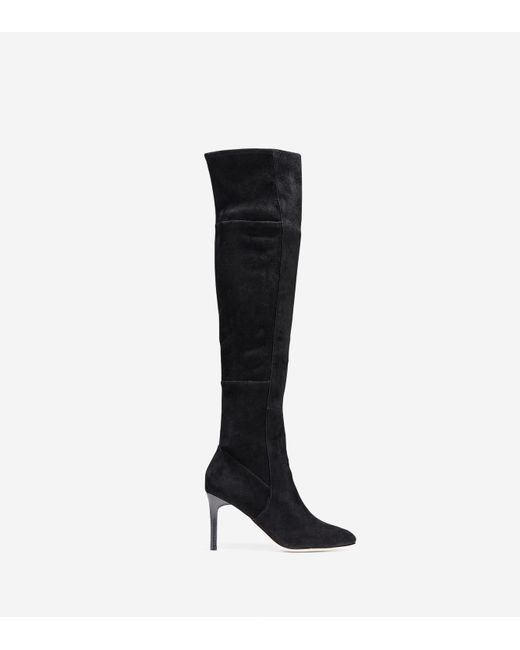 Cole Haan | Black Marina Over The Knee Boot (85mm) | Lyst