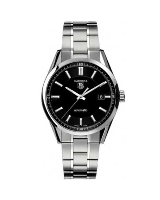Tag Heuer Metallic Carrera Bracelet Watch 39mm For Men Lyst