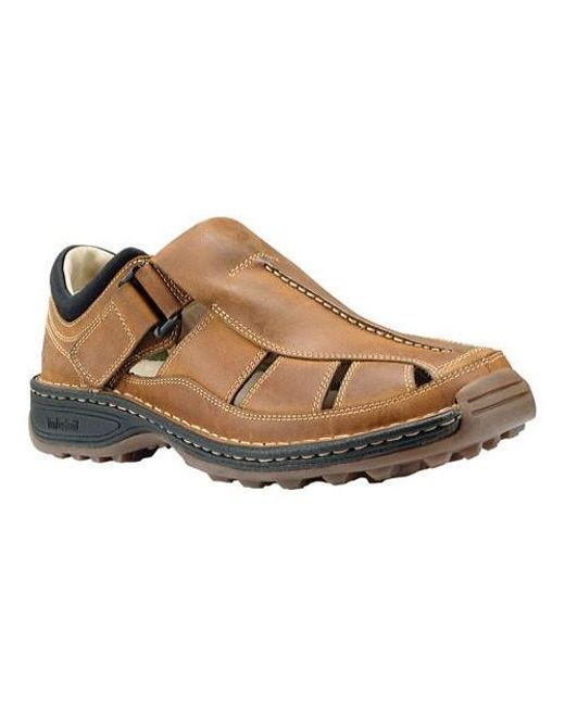 e056ab3444c1 Lyst - Timberland Altamont Fisherman Sandal in Brown for Men - Save 40%
