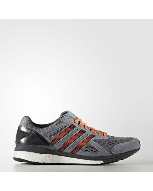 lyst adidas adizero tempo 8 scarpe in grigio per salvare il 3% uomini