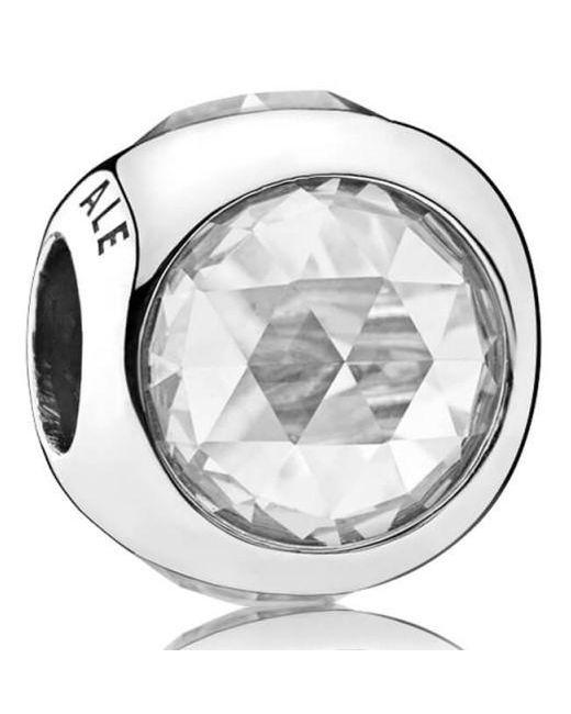 Pandora - Metallic Radiant Droplets Charm - Lyst