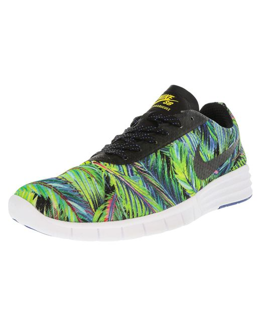 Nike - Paul Rodriguez Renew Game Royal / White Tour Yellow Black Ankle-high Skateboarding Shoe - 11m for Men - Lyst