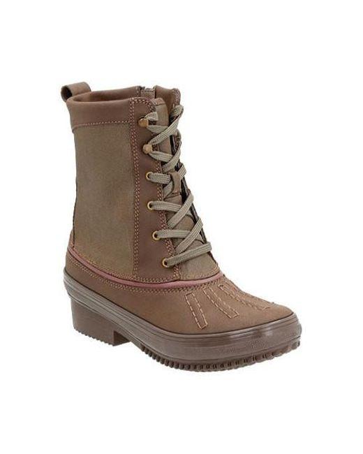 Clarks | Brown Carima Luna Duck Boot | Lyst