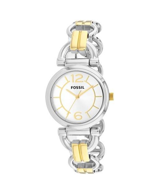 Fossil - Metallic D-link Bq1603 Watch - Lyst