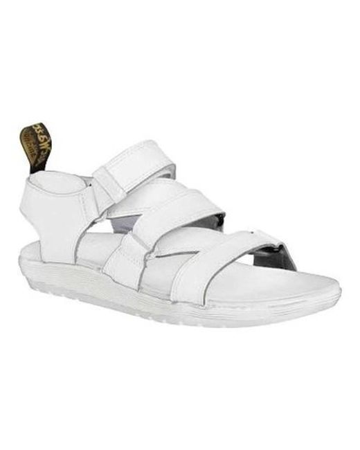 Dr. Martens - White Redfin Strappy Sandal - Lyst