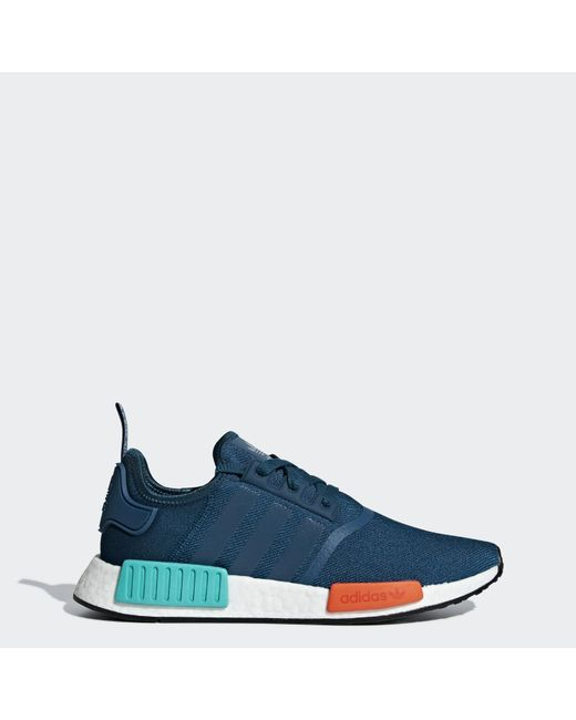 Lyst - adidas Men s Nmd R1 Low-top Sneakers in Blue for Men - Save 39% 03bfced5a