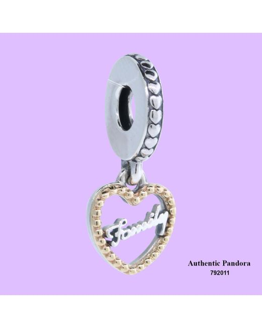 Pandora - Purple Loving Family Charm - Lyst