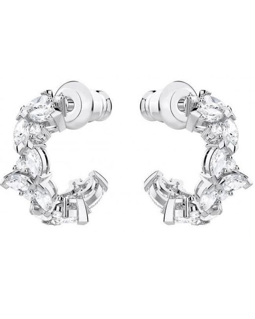 Swarovski - Metallic 5390189 Lady Hoop Pierced Earrings - Lyst