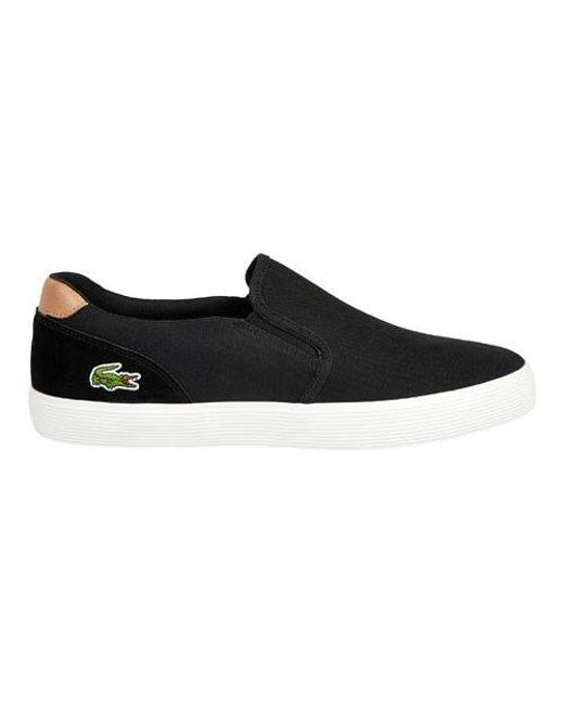 Lacoste - Black Jouer Slip On 316 1 Slip On Sneaker for Men - Lyst