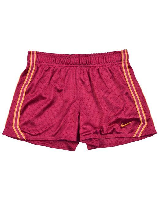 Nike | Pink Big Girls (7-16) Dri-fit Mesh Training Shorts-fuschia-small | Lyst