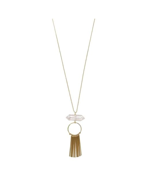 Verve Jewelry | Metallic Roots Necklace | Lyst