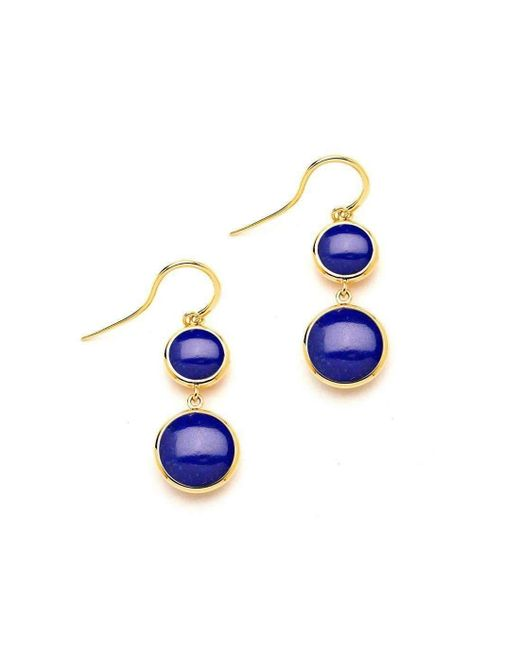Syna - Multicolor 18kt Lapis Lazuli Chakra Earrings - Lyst