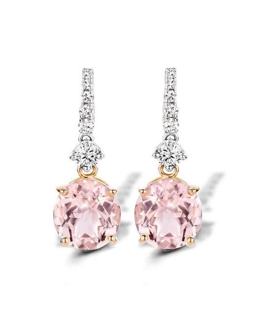 Baskania | Pink Earrings Morganite | Lyst