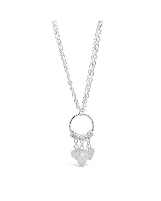 Designs by JAK - Metallic Spirit Heart Dangle Necklace (long) - Lyst