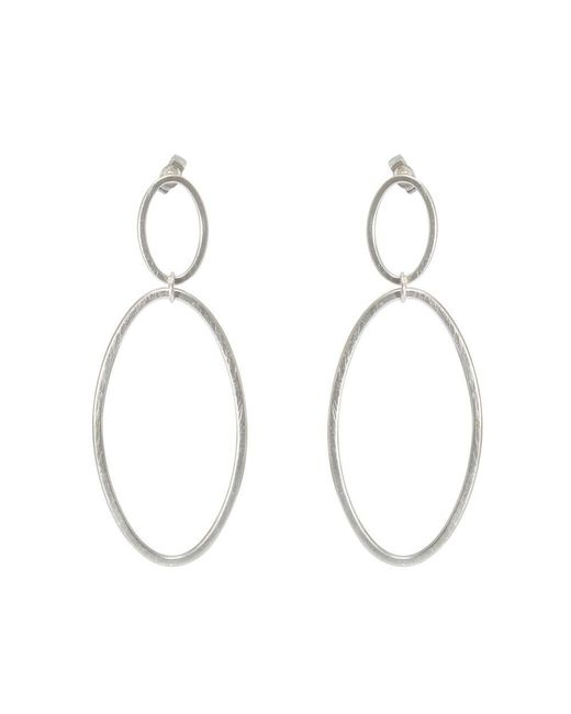 Heather O Connor - Metallic Cadence Double Drop Earrings - Lyst